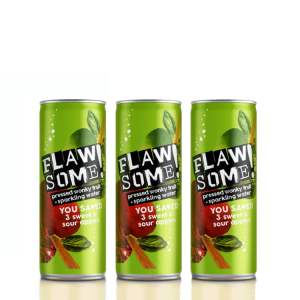 Flawsome - Sweet and Sour Apple - Multi Pack 250ml x 8 (info)_1 - Available on LocoSoco