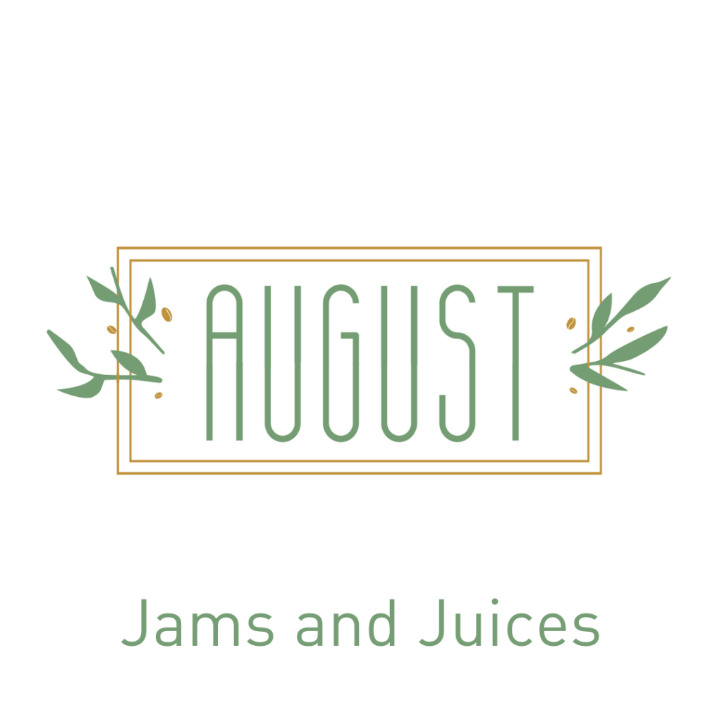 August Jams and Juices available on LocoSoco