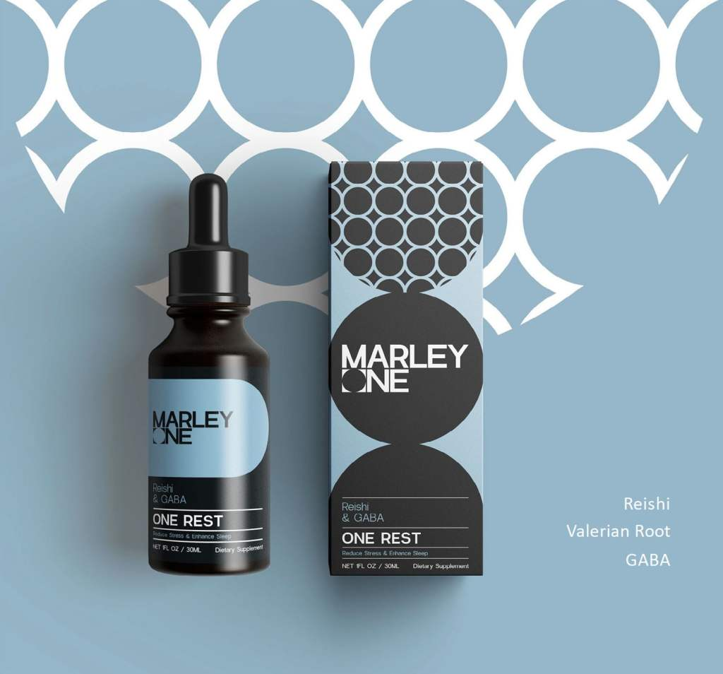 One Rest by Marley One - Available From LocoSoco - Functional Mushroom Tinctures for Sleep