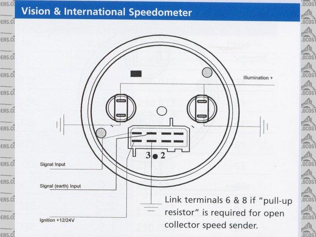 VDO Electronic Speedometer + Sender