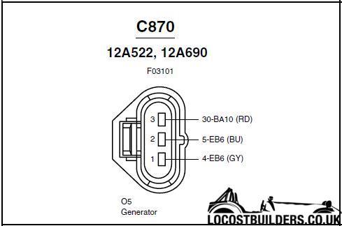 charge alternator wiring  blacktop zetec 20