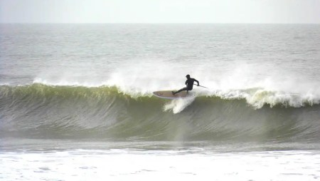 Loco SUP on location in Wales