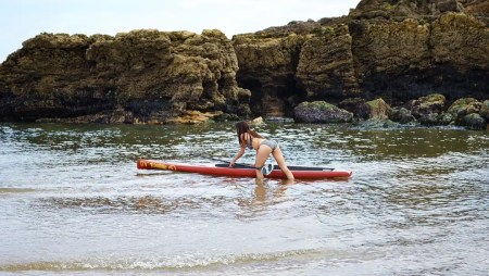"""Witness the Fitness with the Loco 12'6"""" Race Tourer Stand Up Paddle Board"""