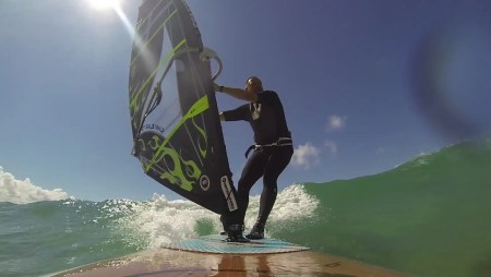Loco WindSUP Rider Paul Monnington shreds Cornwall