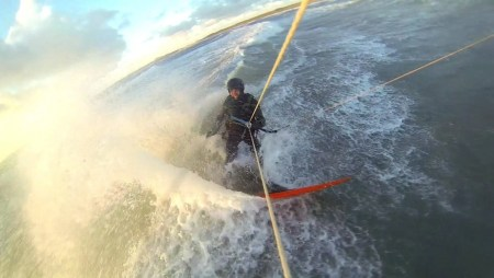 Loco Kite Surfboard Test at Rhosneigr UK