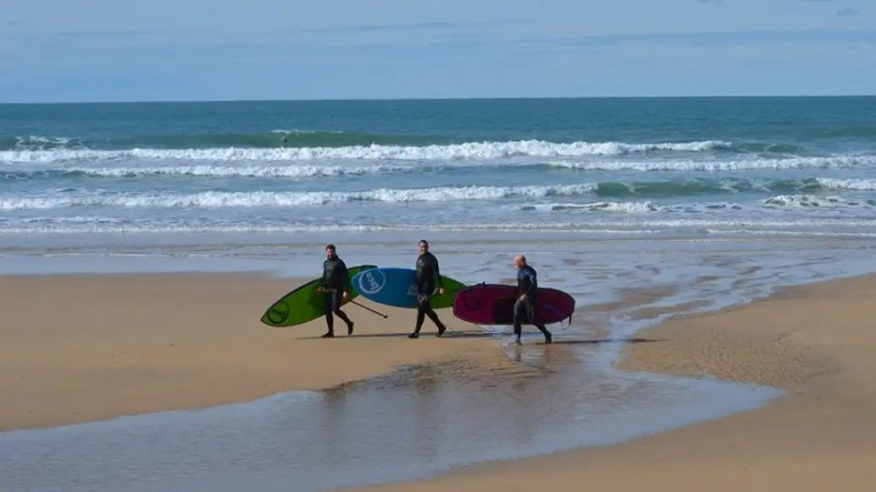 3-amigos carrying Loco Paddle Boards