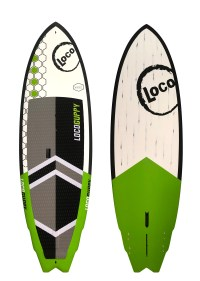 2020 Loco Guppy Stand Up Paddle Board Carbon