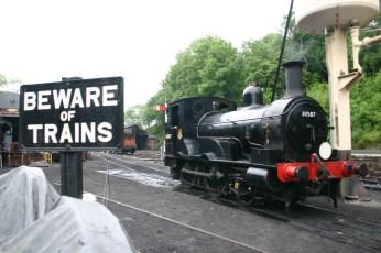 2010 - Bodmin and Wenford Railway - Bodmin General - Beattie well tank - 30587