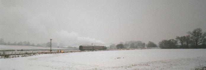 1997 - Departing Rolvenden for Tenterden (Tenterden Bank) - 1638
