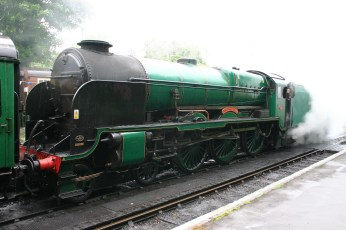 Watercress Line - Alresford - 850 Lord Nelson (2)