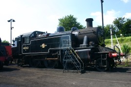 Ropley - Ivatt 2MT tank engine 41312 (Mickey Mouse)