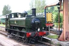 South Devon Railway (Buckfastleigh) GWR Pannier Tank 64xx class 6430 (3)