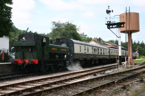 South Devon Railway - Military Weekend - Buckfastleigh - July 2012 - 1369 (Pannier)