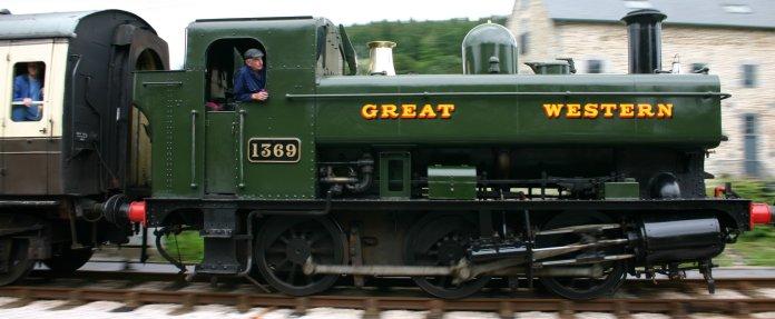 South Devon Railway (Staverton) GWR Pannier Tank 1366 class 1369 (1)
