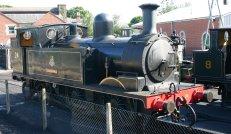 Isle of Wight Steam Railway - Havenstreet - Adams O2 - W24 Calbourne
