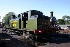 Bluebell Railway - Sheffield Park - LBSCR E4 class B473 (Birch Grove) & C class 592