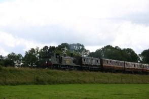 Bluebell Railway - Approaching Horsted Keynes (from Sheffield Park) - LBSCR E4 class B473 (Birch Grove)
