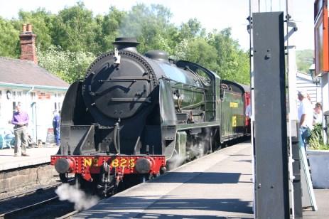 North Yorkshire Moors - Grosmont - S15 class - 825