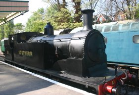 2011 - Swanage - Ex-LSWR M7 class - 53