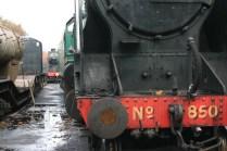 2012 - Watercress Railway - Ropley - SR Locomotive - 850 Lord Nelson