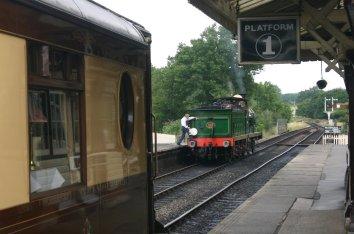 2009 Bluebell Railway - Sheffield Park - SECR C class - 592 (1)