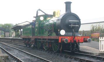 2009 Bluebell Railway - Sheffield Park - SECR C class - 592 (7)