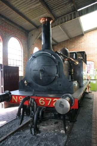 2011 - Bluebell Railway - Sheffield Park - LBSCR A1 Terrier- 672 Fenchurch