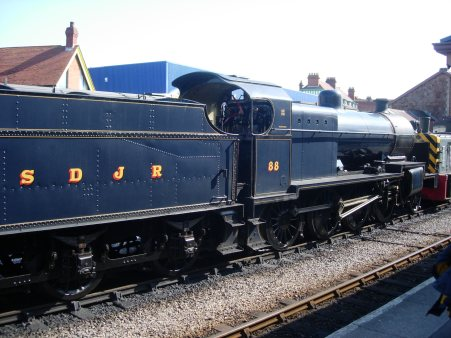 2008 - West Somerset Railway - Minehead - 7F - 88