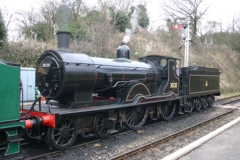 2013 Great Spring Steam Gala - Watercress Line - Medstead & Four Marks - Ex-LSWR T9 class - 30120