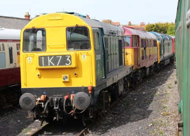 2013 - Swanage Railway - Swanage - class 20 - 20142