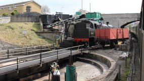 2013 - Swanage Railway - Swanage - Swanage Turntable - BR Standard class 4MT - 80104