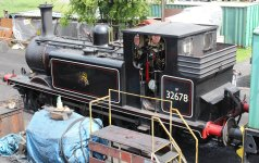 2013 - Kent and East Sussex Railway - Rolvenden - Ex-LBSCR A1X Terrier - 32678