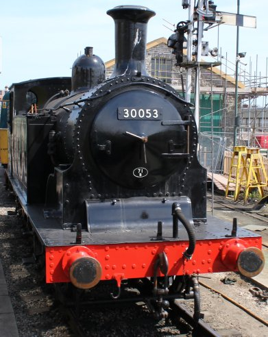 2013 - Swanage Railway - Swanage - Ex-LSWR M7 class - 30053 (BR lined late crest)