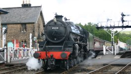 2011 - North York Moors Railway - Grosmont - 45428 Eric Treacy