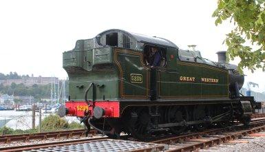 2013 Paignton and Dartmouth Railway - Kingswear - GWR 52xx 2-8-0T Class - 5239 Goliath