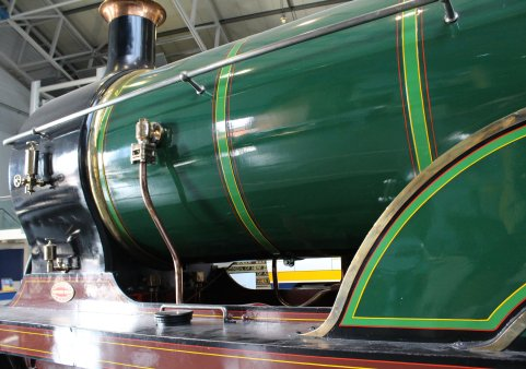 2013 National Railway Museum York - The Great Gathering - SECR D Class 4-4-0 737 lined green