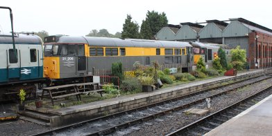 2013 Spa Valley Railway - Tunbridge Wells West - class 31 31206