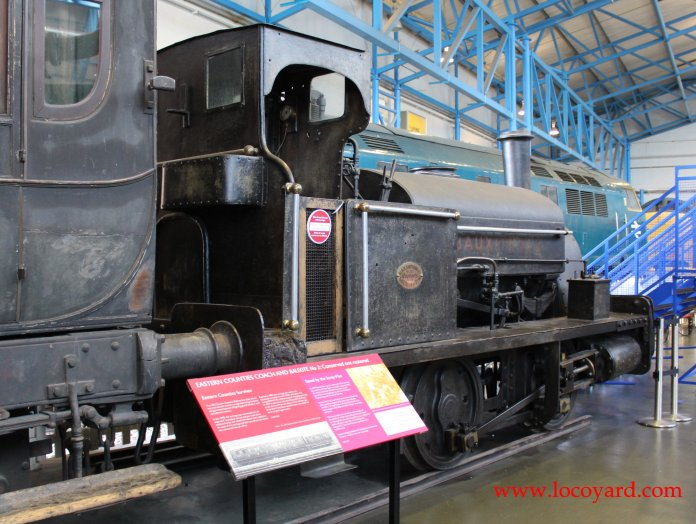 2013 National Railway Museum York - The Great Gathering - Black, Hawthorn & co - 2 Bauxite 0-4-0 Saddle tank