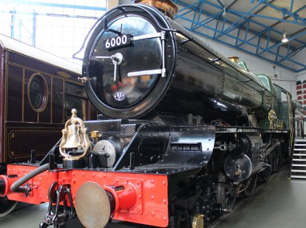 2013 National Railway Museum York - The Great Gathering - GWR King George V