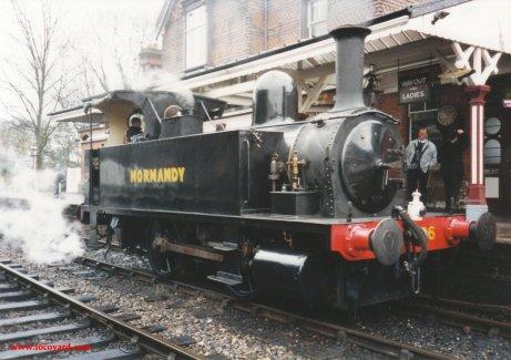 1994 Bluebell Railway - Sheffield Park - LSWR B4 class 96 Normandy