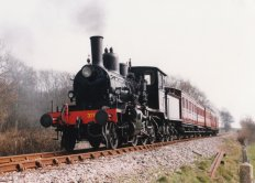 Locoyard - Norwegian class 21c - 376 (1996 - Kent & East Sussex Railway)