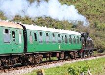 2014 - Swanage Railway - Corfe Castle - Ex-LSWR M7 class - BR 30053