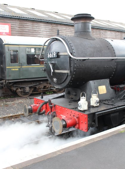 2014 Kent and East Sussex Railway 40th Anniversary Gala Tenterden Town Ex-GWR 56xx 6619