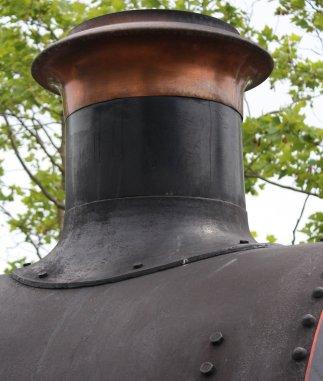 2014 Bluebell Railway - East Grinstead - Ex-GWR 56xx class - 5643 chimney