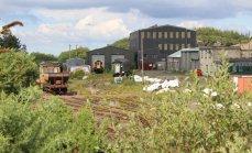 Dartmoor Railway 2014 - Meldon Viaduct (Yard)