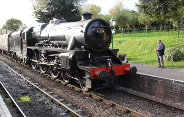 2014 Autumn Steam Gala Watercress Line - Ropley - Ex-LMS Black 5MT 45379