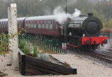 Nov 2014 Peak Rail Matlock - Hunslet Austerity 0-6-0ST Lord Phil