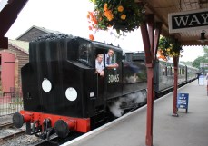 Kent and East Sussex Railway Tenterden August 2015 (18) BR SR USA Dock Tank 30065