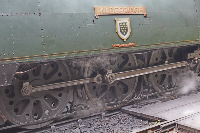 261e - Watercress Line Alresford - Bulleid West Country Class pacific 34007 Wadebridge - 19th August 2015