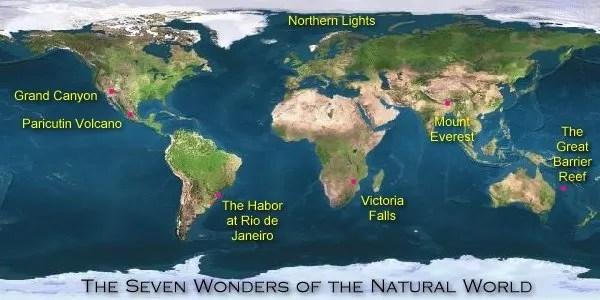 7 maravillas naturales